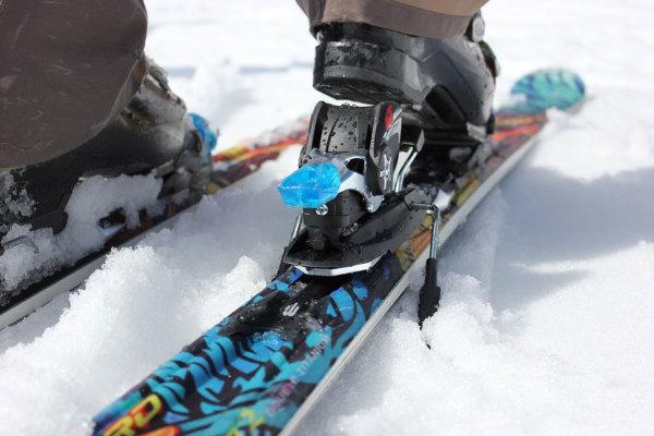 Fixations ski racing