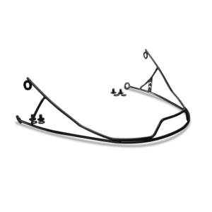 MENTONNIERE NOIRE POUR CASQUE DE SKI RACING