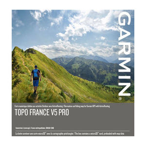 CARTE TOPOGRAPHIQUE GARMIN FRANCE V5 PRO