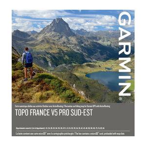 CARTE TOPOGRAPHIQUE GARMIN FRANCE SUD EST V5 PRO