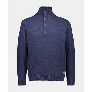 PULL COL MONTANT AVEC BOUTONS