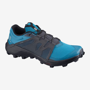 CHAUSSURES TRAIL RUNNING HPOMME SALOMON WILDCROSS H