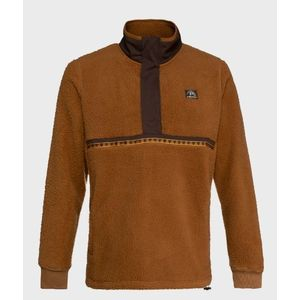 PULL POLAIRE BEIGE HOMME